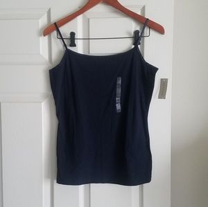 Ann Taylor M Navy Blue Camisole Top New With Tags